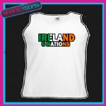 IRELAND 6 NATIONS RUGBY UNISEX VEST TOP